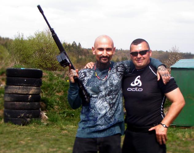 Robert LaSardo s Norbertom Michalákom