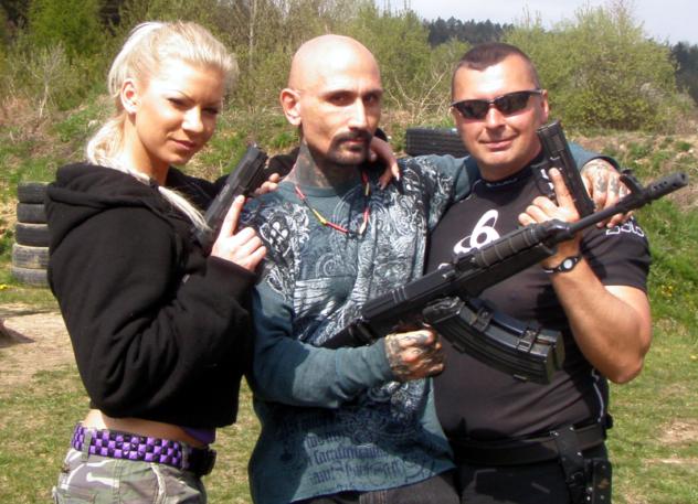 Eva Martinková, Robert LaSardo a Norbert Michalák