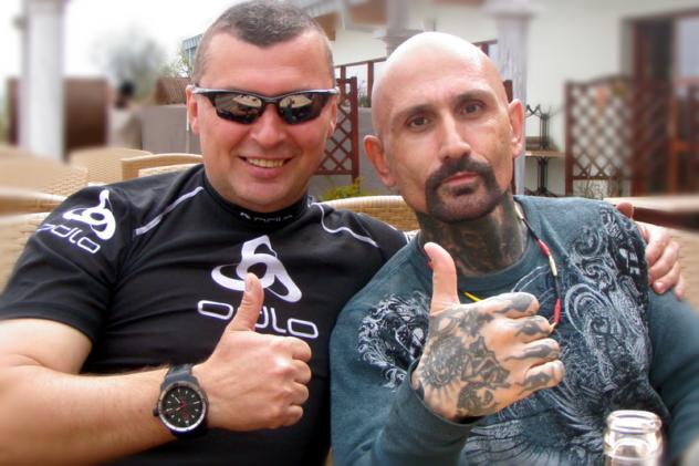 Norbert Michalák a Robert LaSardo - po výcviku